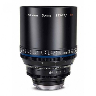 Zeiss 135mm T2.1 CP2 Lens with EF Mount picture 1