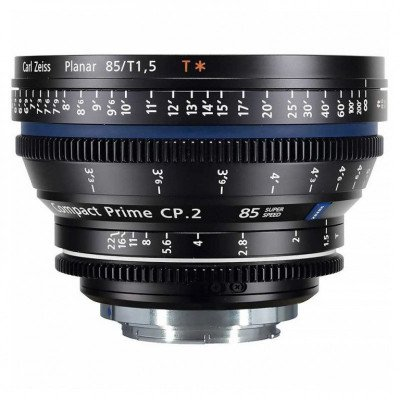 Zeiss 85mm T1.5 CP2 Lens with EF Mount picture 1