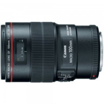 Canon 100mm f-2.8L IS Macro Telephoto Lens picture 1