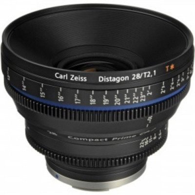 Zeiss 28mm T2.1 CP2 Lens with EF Mount picture 1