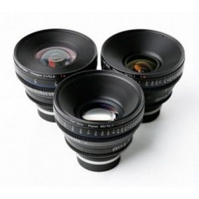 Zeiss CP2 3-Lens Set EF Mount picture 1