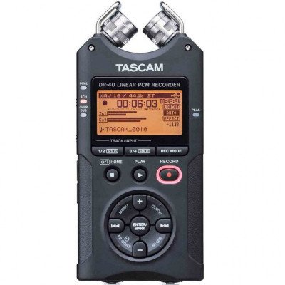 Tascam DR-40 Portable Field Audio Recorder picture 1