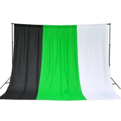 Green Screen Backdrop and Stands picture 1