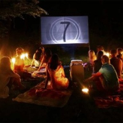Backyard Movie Night Package picture 1