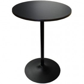 Black High Top Table