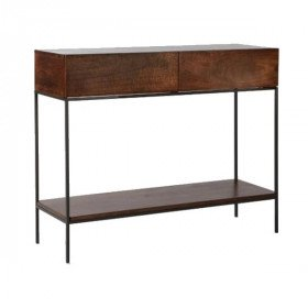 Cafe Storage Console Table