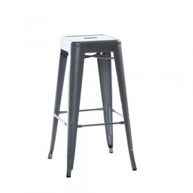 Industrial Bar Stool - Tall