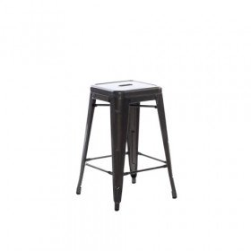 Industrial Counter Stool - Short