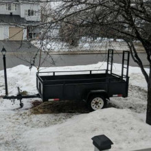 trailer - 4'x 8' utility with ramps
