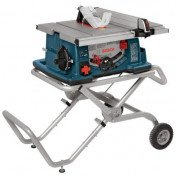 """Bosch - 10"""" Table Saw on rolling stand"""