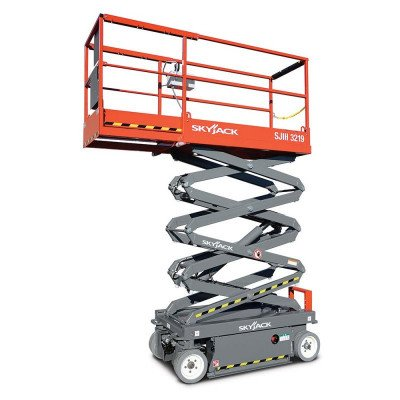 Scissor Lift, 19 ft., Electric Powered picture 1