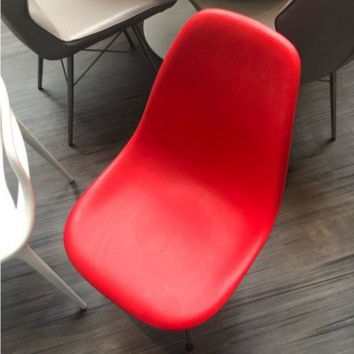 red - white chairs-1