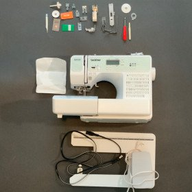 Brother sewing machine and embroidery machine