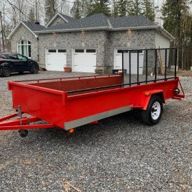 6x12 Single Axle Trailer
