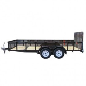 Equipment Trailer, Tandem Axle
