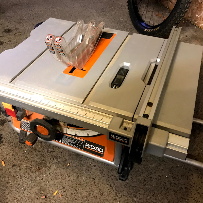 Ridgid Table Saw 10""