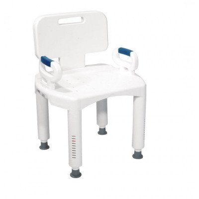 shower chair with back and arms picture 1