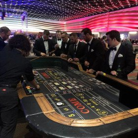 Craps Table with 2 Dealer