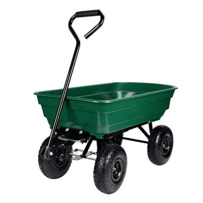 garden dump cart with steel frame picture 2