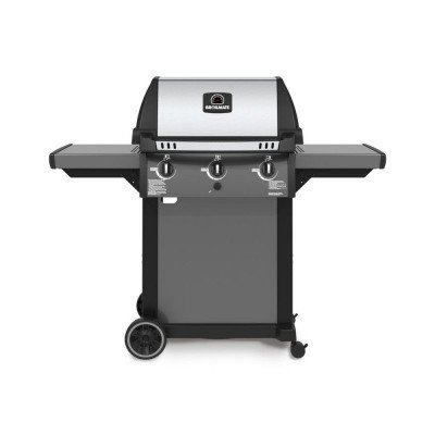 natural gas bbq in cast aluminum picture 1