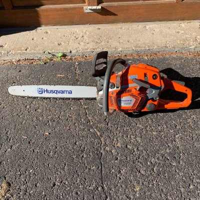 husqvarna 550e cycle gas chainsaw