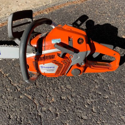 husqvarna 550e cycle gas chainsaw-1