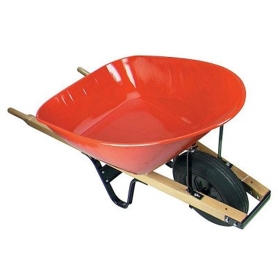 steel tray industrial wheelbarrow picture 2