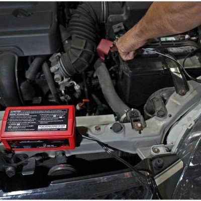 automatic car battery charger picture 2
