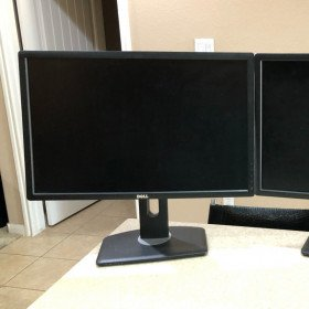 "Dell 24"" monitor 1920x1200 IPS"