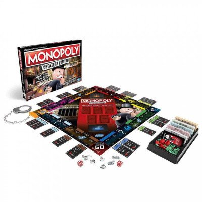 monopoly cheaters edition board game-1