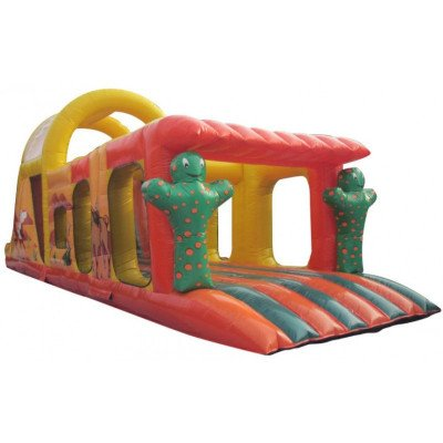 farwest inflatable obsatcle course