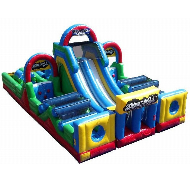 adrenaline rush inflatable obstacle course