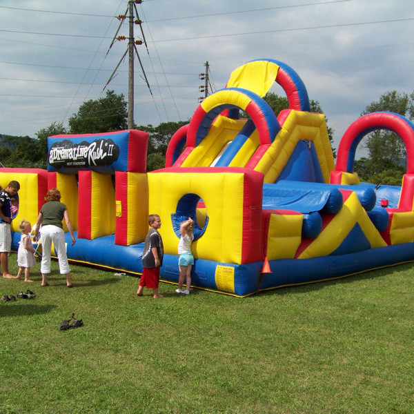 adrenaline rush inflatable obstacle course -1