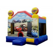 Cars Inflatable Bouncer