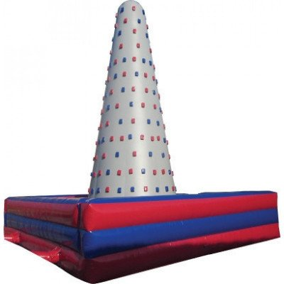climbing wall inflatable game