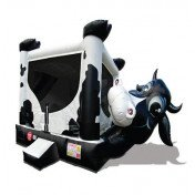 Cow Belly Inflatable Bouncer