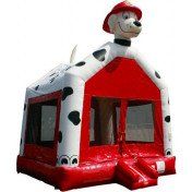 Inflatable Dalmation bouncer