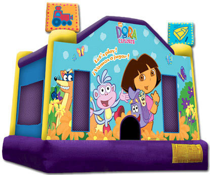 dora inflatable bouncer