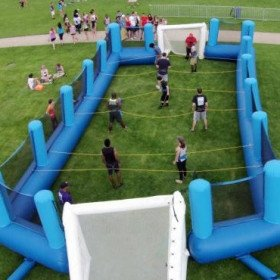 Human Foosball Inflatable Game