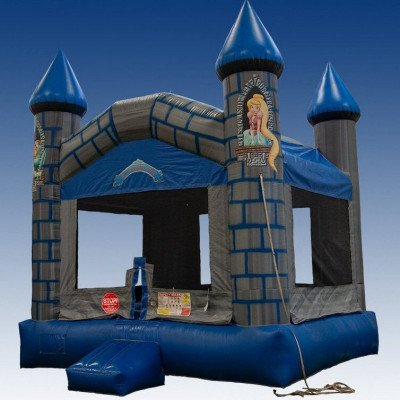 knight castle inflatable bouncer-1
