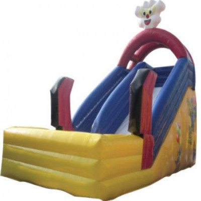 mickey inflatable slide