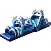 Ocean Inflatable Obstacle Course