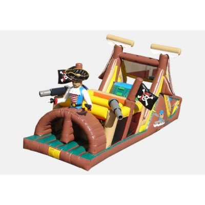 pirate inflatable obstacle course-1