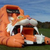Sabertooth Tiger Inflatable Slide