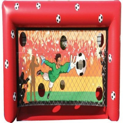 soccer shot inflatable game