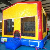 Space Saver Inflatable Bouncer