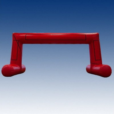 red arch inflatable