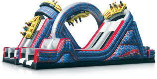 Wild One Inflatable Obstacle Course