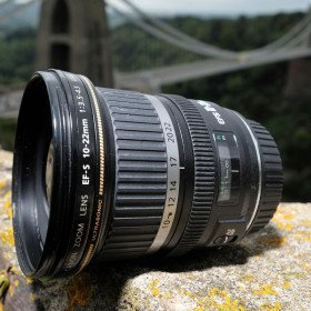 Sigma wide angle lens, 10-20mm, canon mount