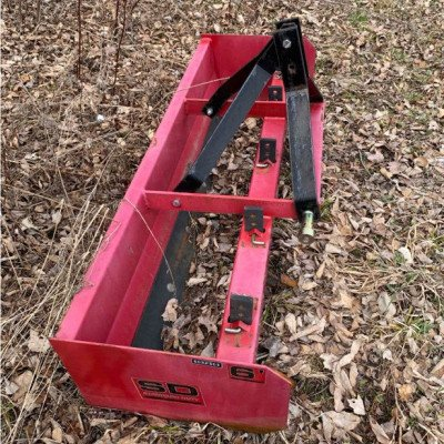 3 point hitch box blade - 6ft-1